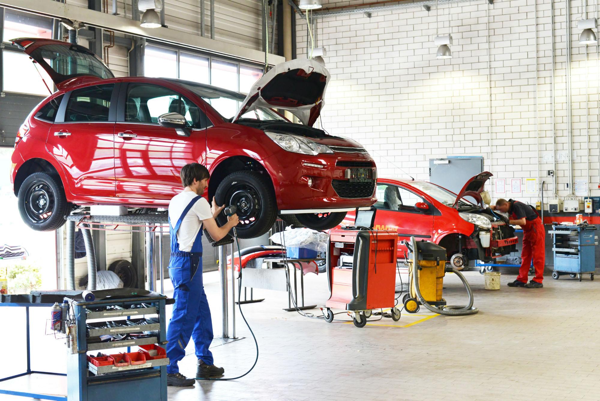 фотографии ремонтных мастерских автомобилей штукатурка эффектом шелка